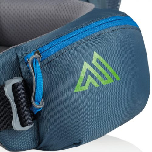 Adjustable hipbelt pockets.