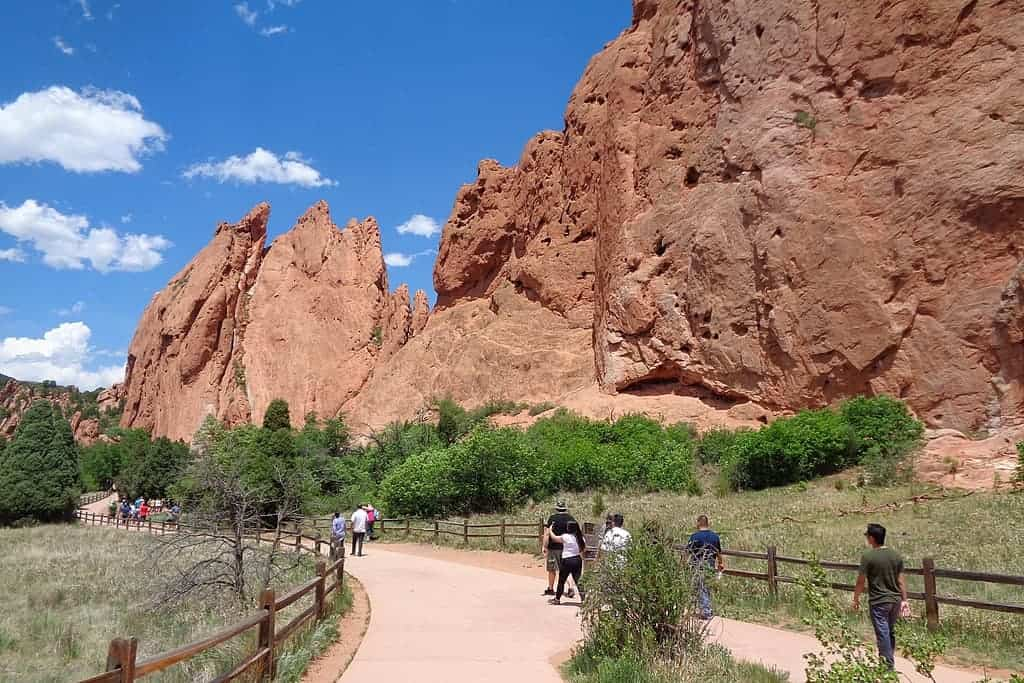 best hikes near colorado springs - Garden of the gods