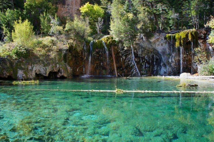 Hanging Lake Glenwood Canyon Colorado