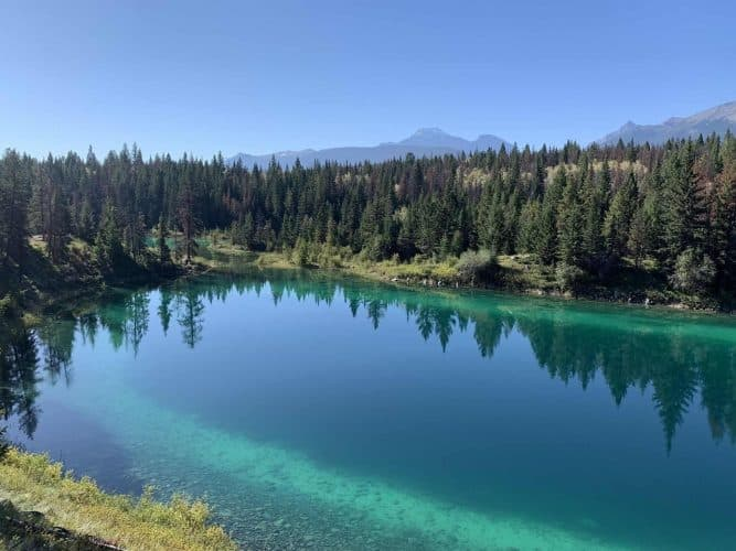 Valley of Five Lakes and First Lake - Canada