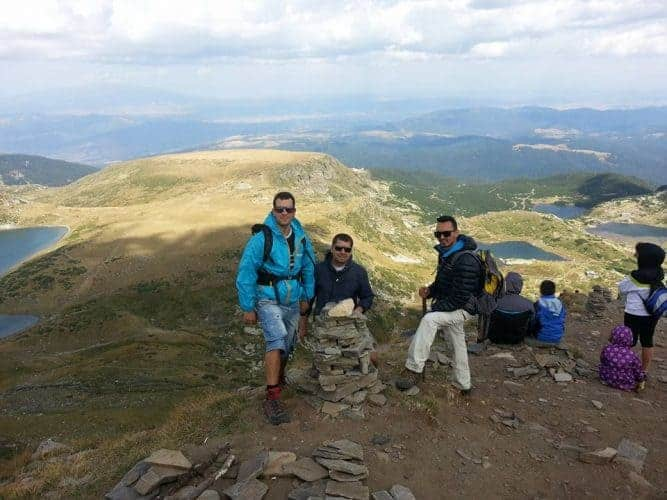 hiking in seven rila lakes Bulgaria