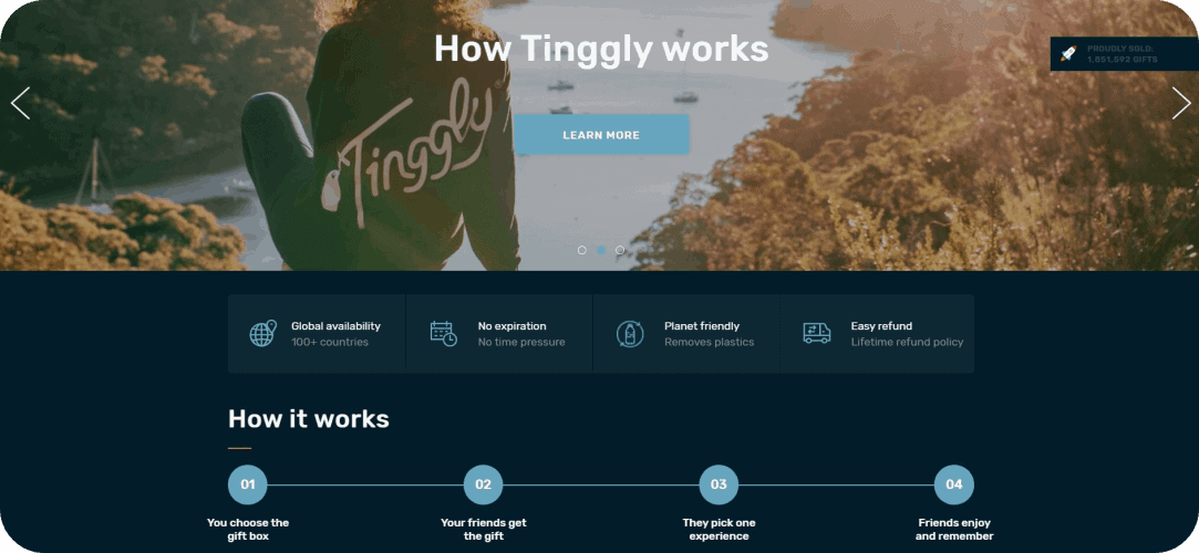 how tinggly works