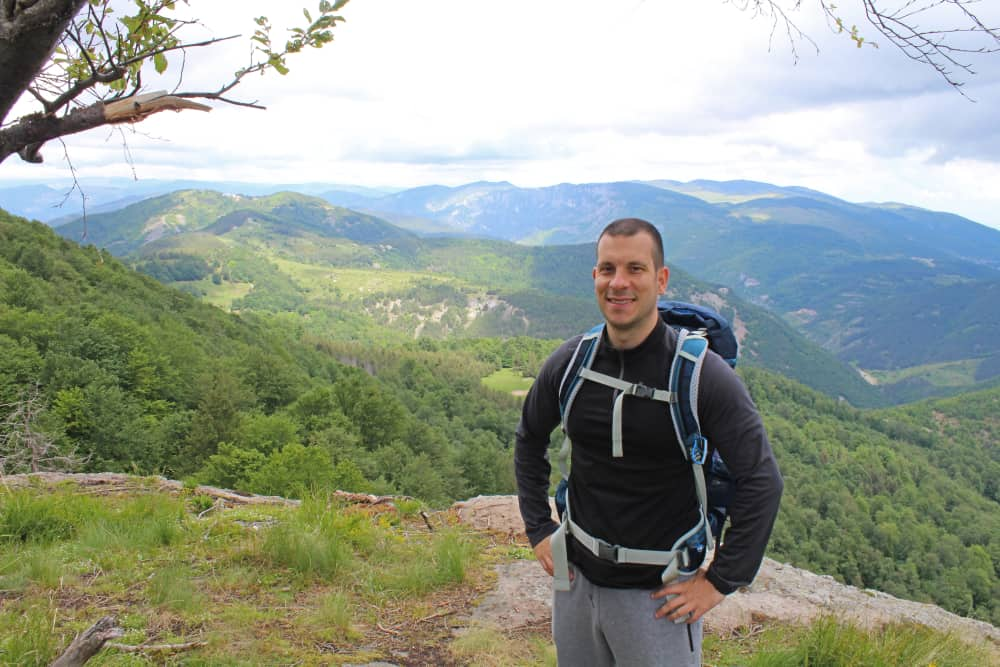 hiking in rhodope