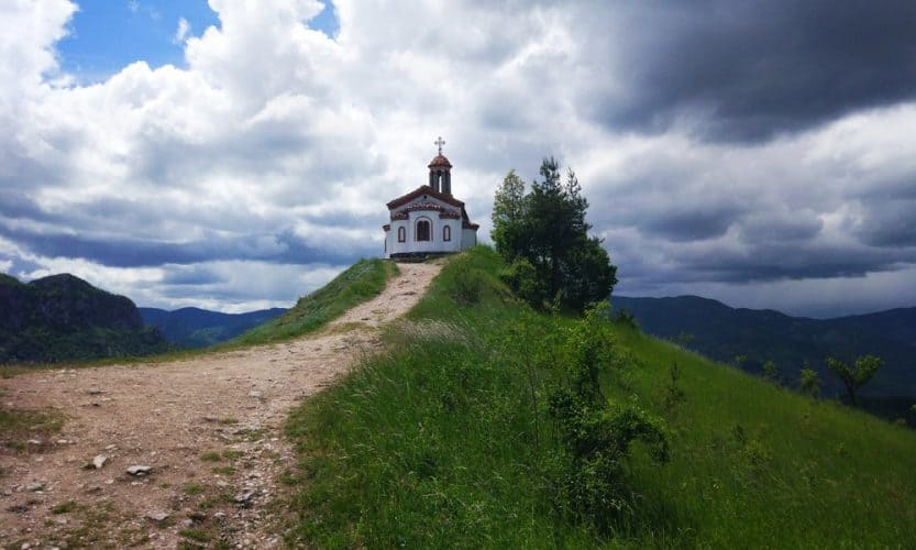 a chapel in the village of borovo