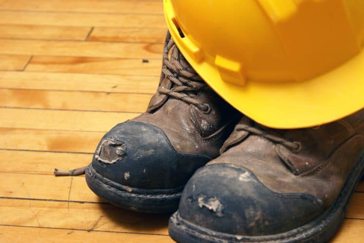 steel toe protection