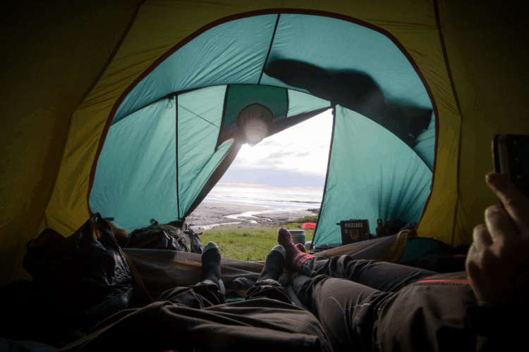 overnight backpacking