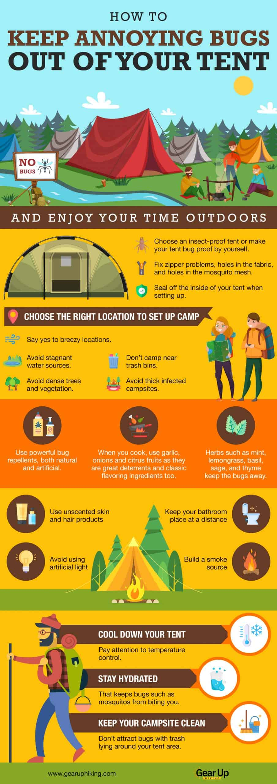 Keep Annoying Bugs Out Of Your Tent (1)