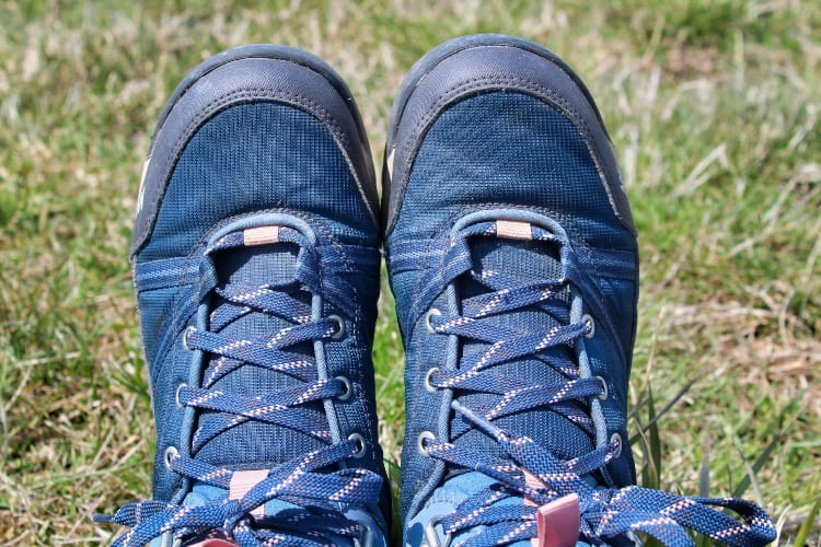 a pair of women's hiking boots