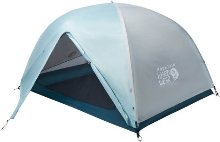 mountain hardware tent with rain fly