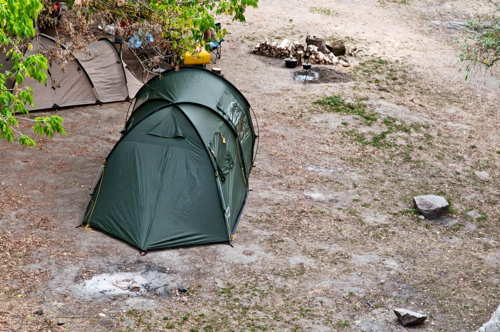 how to dry a tent fast