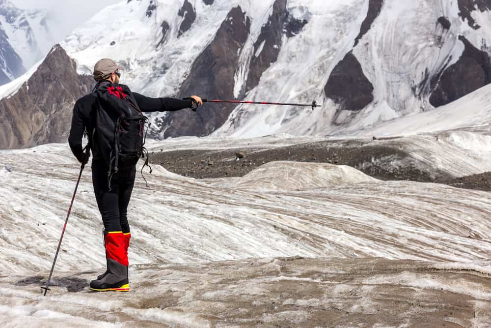 what are trekking pole baskets for