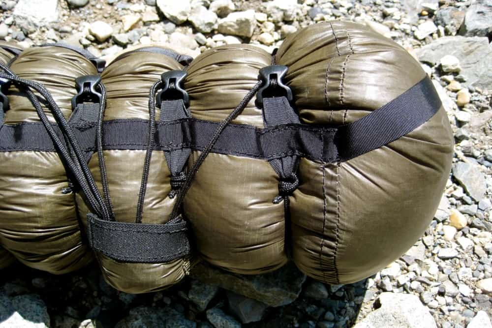 can you put a tent in a compression sack