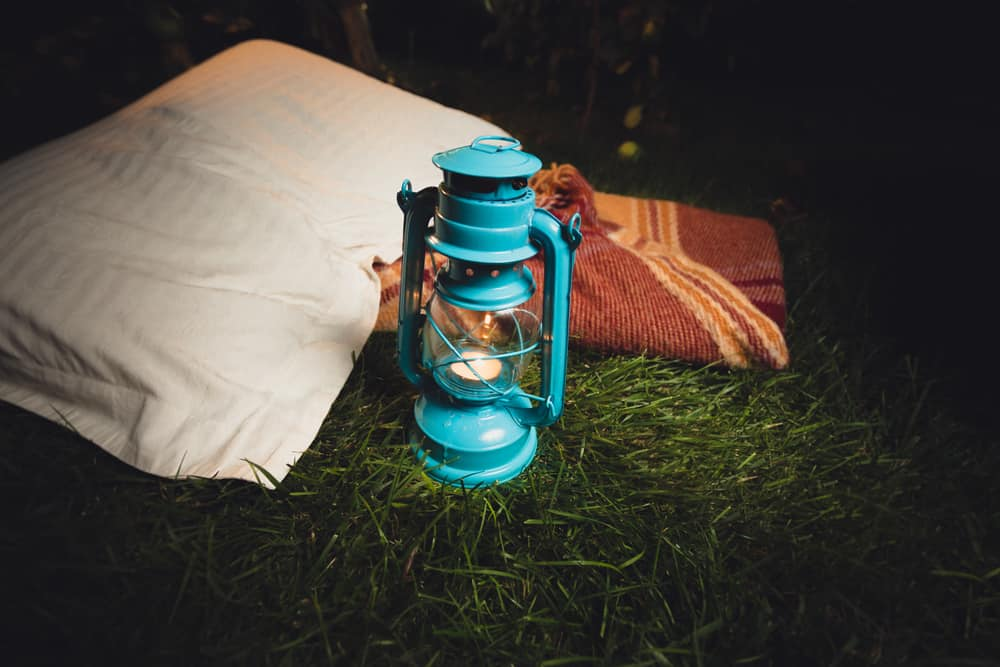 what to use as a pillow when camping