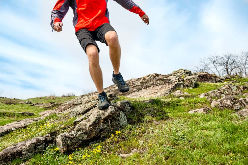 can hiking shoes be used for running